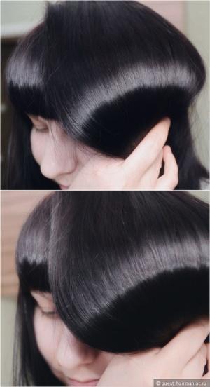 Окрашивание волос дома в черный цвет