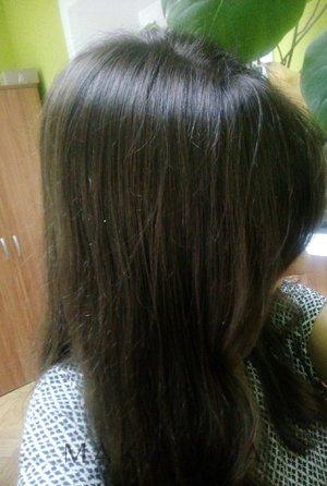 Окрашивание седых волос басмой
