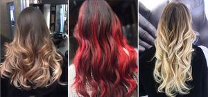Техника балаяжа для покраски волос