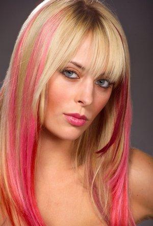 Мультитональное амбре для блондинок и длинных волос