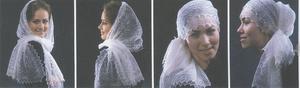 Как носить оренбургский платок