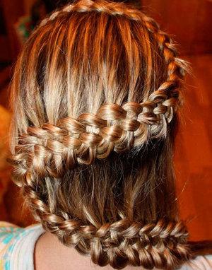 Технология плетения косы