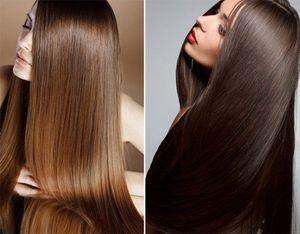 Процедура выпрямления волос кератином
