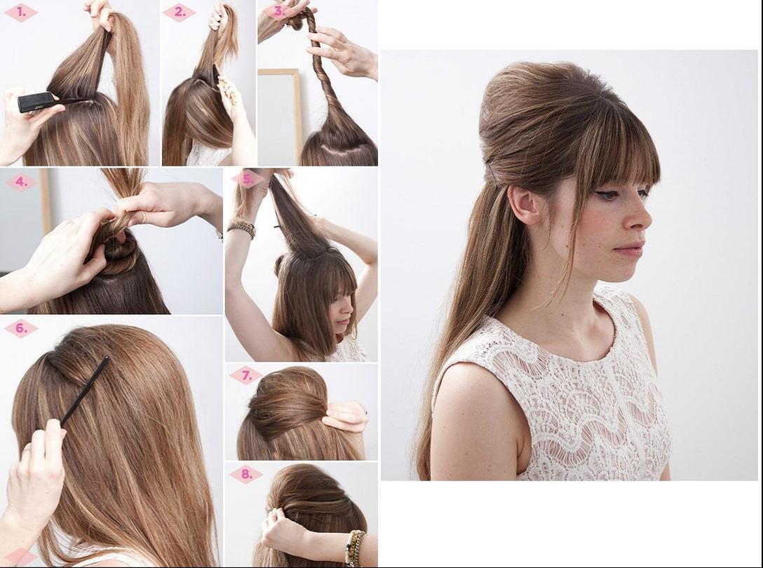 Как самому сделать укладку волос