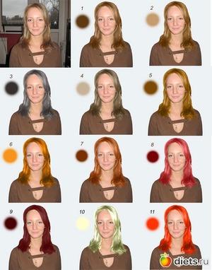 Способы подборки цвета