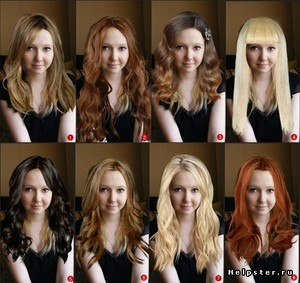 Окрашивание волос новыми технологиями