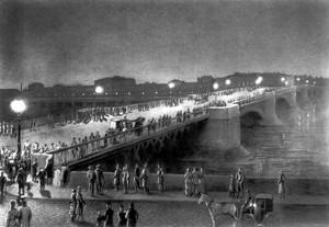 Фонари на Литейном мосту