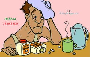 Как снять интоксикацию организма