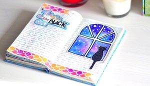 Личный дневник с изображениями