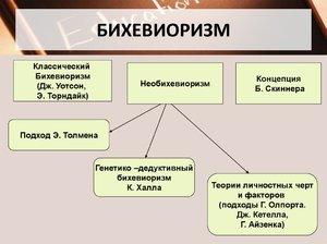 Бихевиоризм в россии