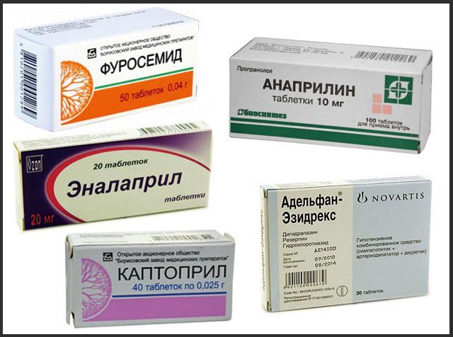 Лучшие препараты от давления без побочных эффектов