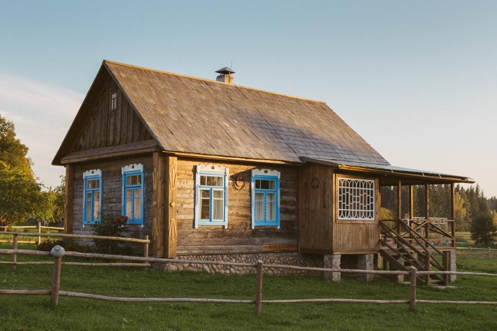 проходили простой деревенский дом в картинках верующих