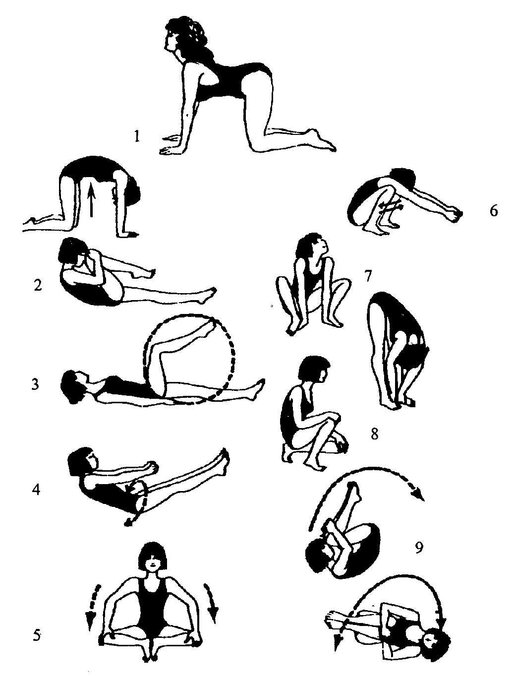 Упражнения для укрепления спины картинки