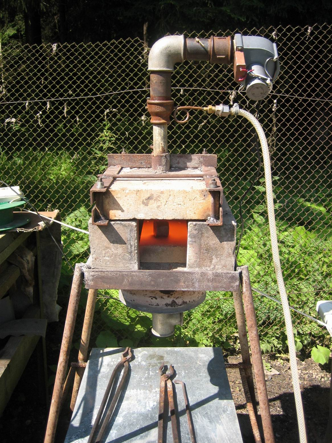 Чертеж газового горна своими руками фото 983