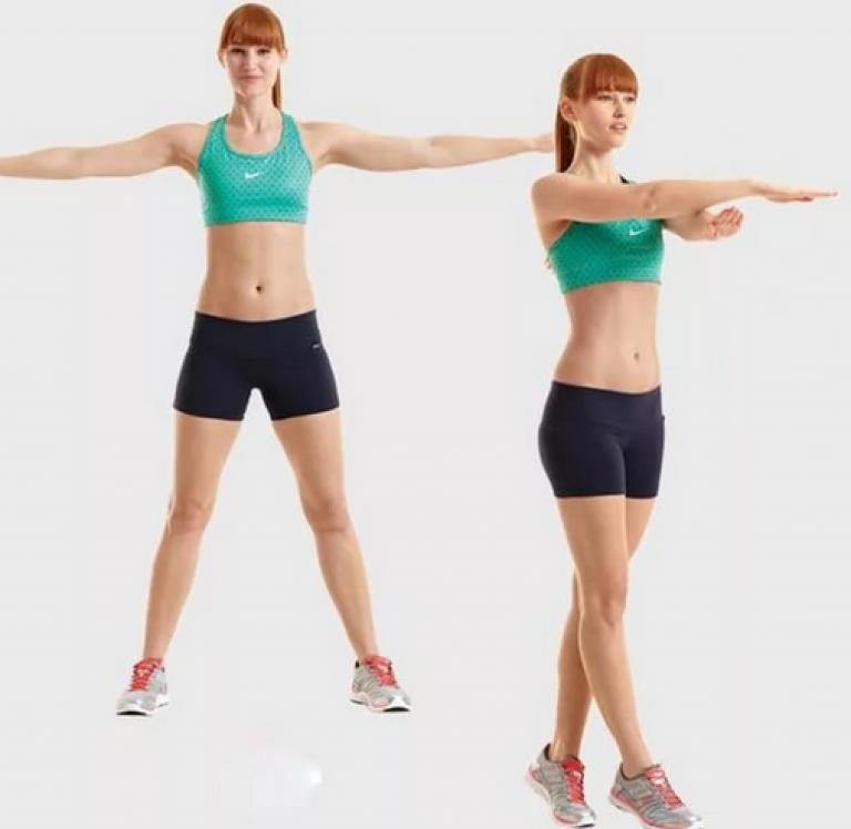 Гимнастика Руки Похудение. Как похудеть в плечах и руках: упражнения и рекомендации