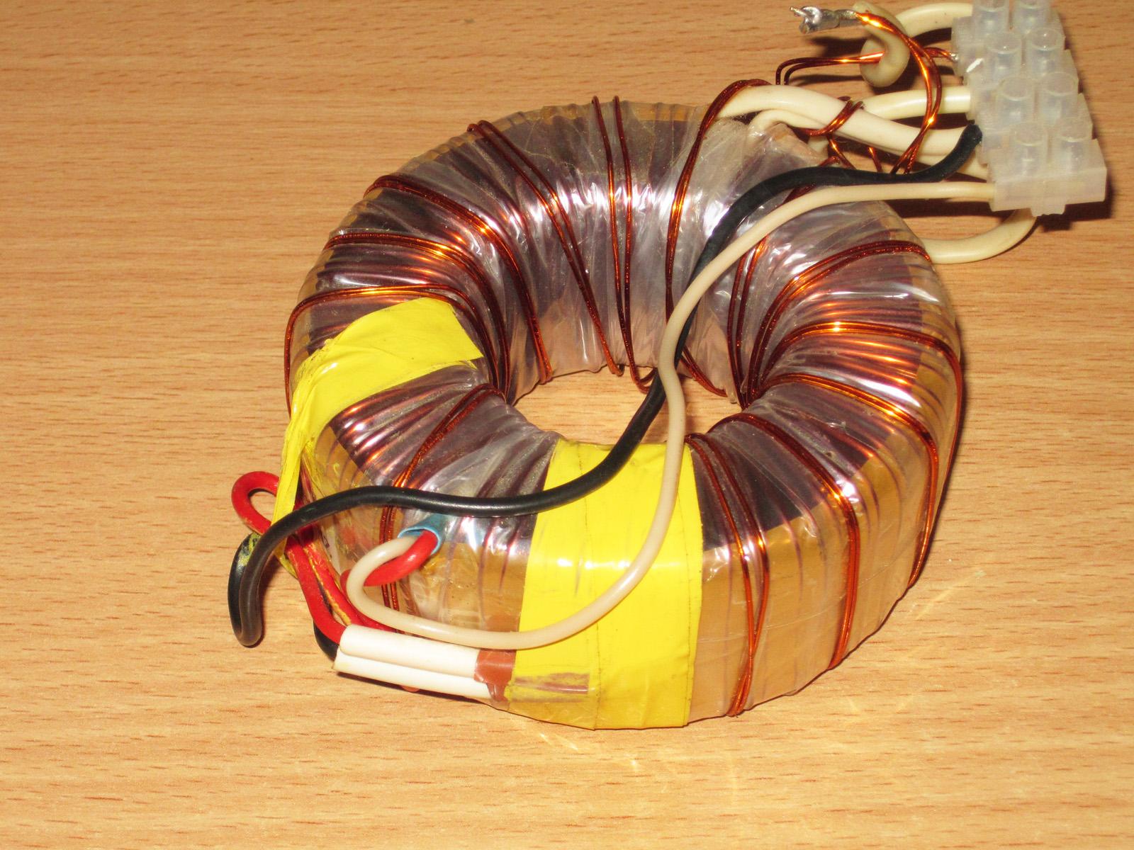 Расчет тороидальный трансформатор своими руками фото 69